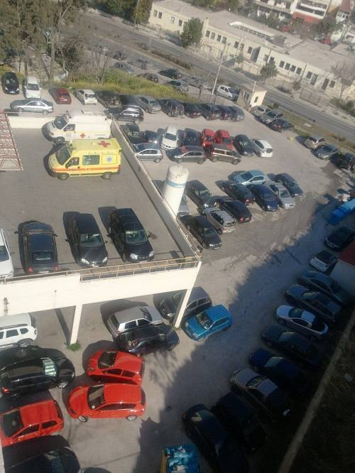 Το parking χάος