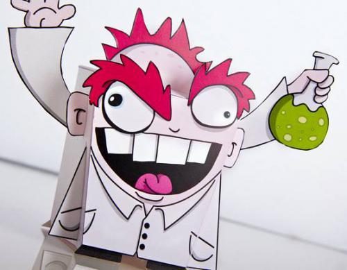 Mad Scientist by dzingeek