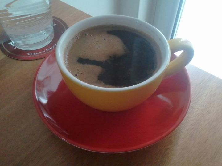 Ο καφές πινόκιο στρούμφ