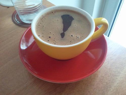 Ο καφές θαυμαστικό