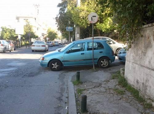 Παρκάρω στη γωνία