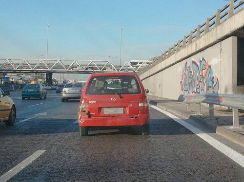 Το πληγωμένο αυτοκίνητο