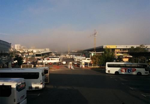Στο σταθμό λεωφορείων στη Σόφια