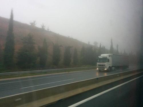 Ομίχλη κοντά στα σύνορα με Βουλγαρία