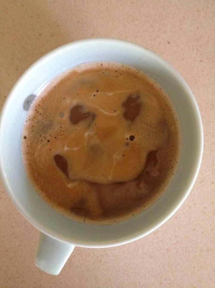 Ο καφές χαμόγελο